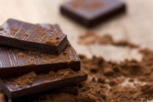 2 Small Pieces of Dark Chocolate