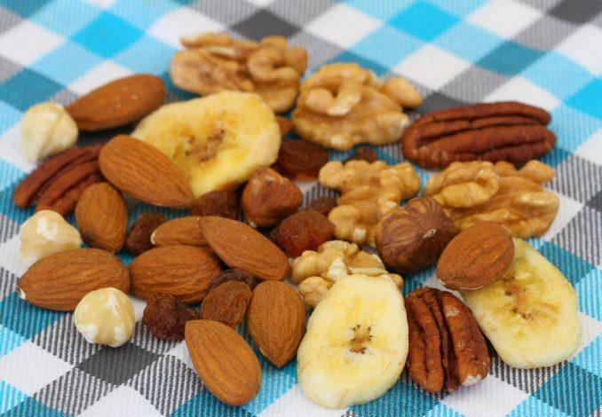 Banana with Mixed Nuts