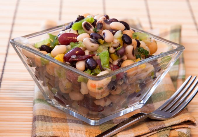 Bean Salad with Anchovies