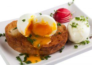 Boiled Egg on Gluten-Free Toast