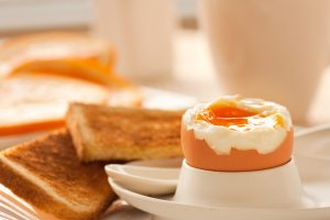 Boiled Egg with Gluten-Free Toast