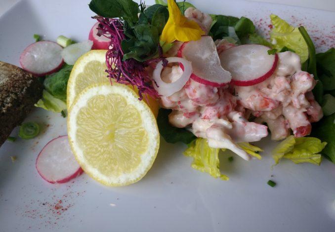 Crayfish Salad with Mayonnaise