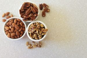 Handful of Mixed Nuts (Almonds, Walnuts, Pecans)