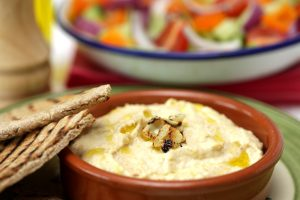 Hummus with Pitta