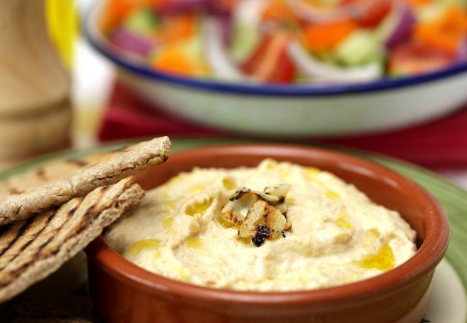 Hummus with Pitta
