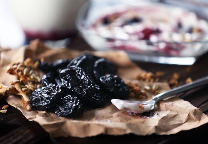 Natural Greek Yoghurt with Prunes