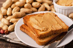 Peanut Butter on Wholemeal Toast