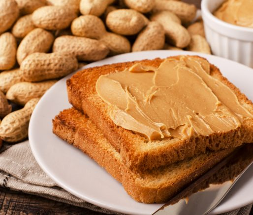 Peanut Butter on Wholemeal Toast