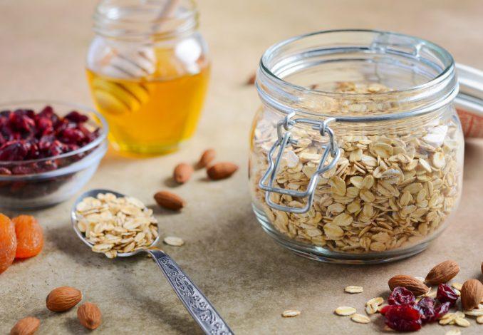 Porridge with Honey and Cranberries