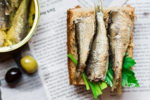Sardines with Toast