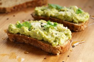 Smashed Avocado on Toast with Lemon