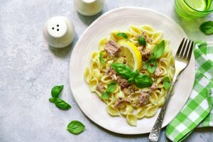 Tuna and Lemon Pasta