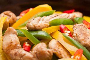 Chilli Chicken Stir Fry