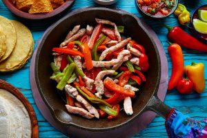 Extra Hot Mexican Chicken Fajitas