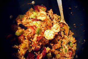 Fiery Vegetable Jambalaya