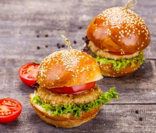 Homemade Turkey Burger