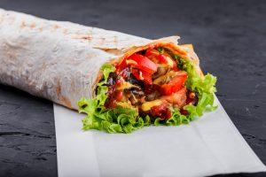 Spiced Vegetable Burrito