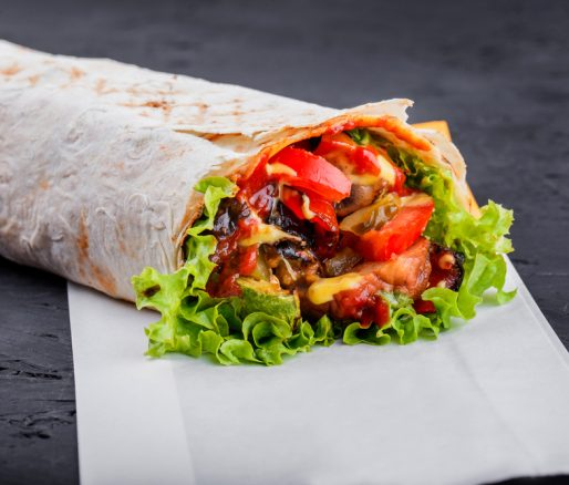Spiced Vegetable Burrito