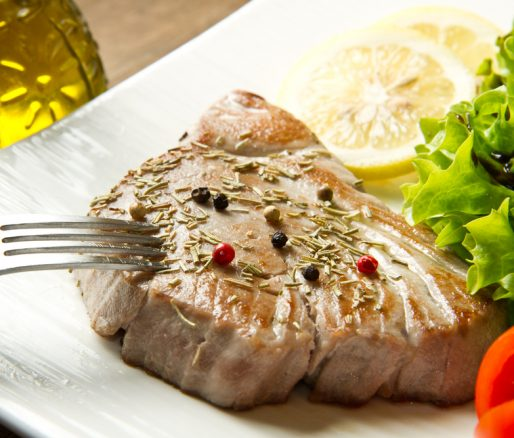 Tuna Steak Salad