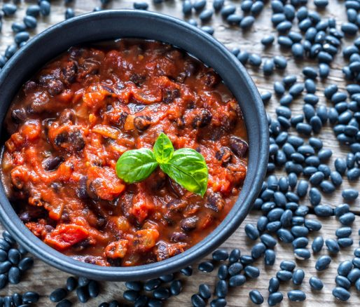 Turkey Chilli and Black Beans
