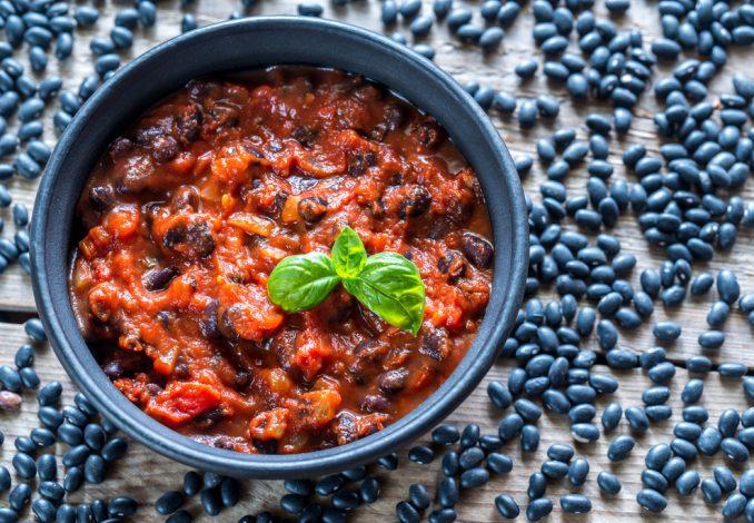 Turkey Chilli and Black Beans