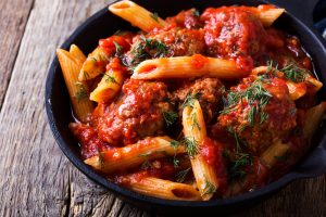 Turkey Meatball Pasta