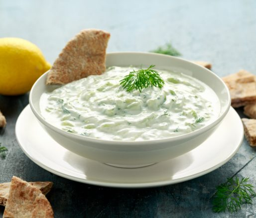 Tzatziki and Pitta