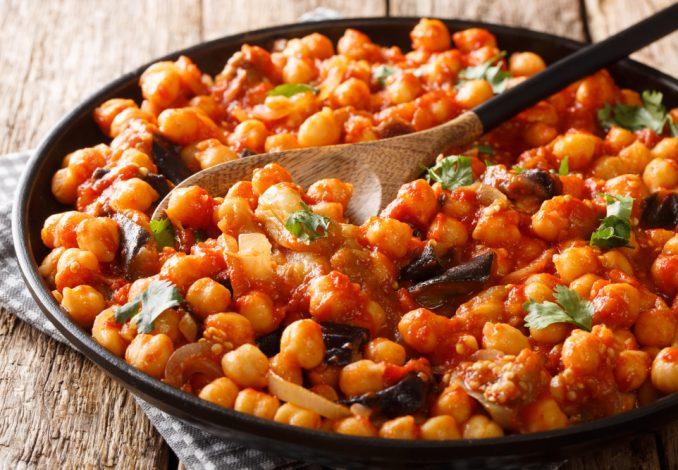 Vegan Algerian Style Chickpeas