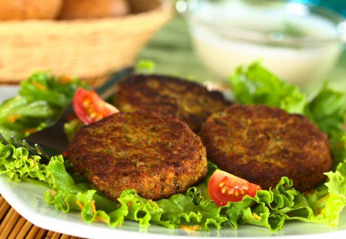 Vegan Hot Burgers