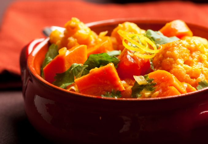 Vegan Vegetable Curry