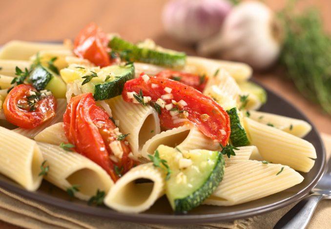 Vegetable & Tomato Pasta