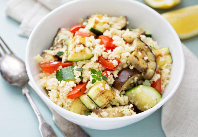 Vegan Hummus Couscous